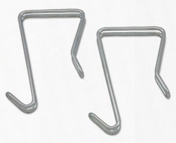 Single Sided Partition Garment Hook, 2/pk By Alera