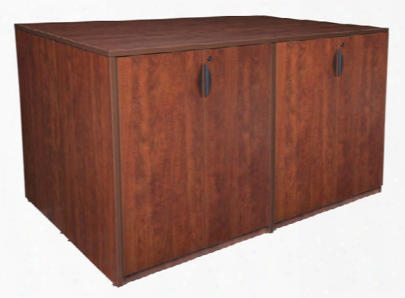 Stand Up 2 Storage Cabinet/ 2 Desk Quad By Regency Furniture