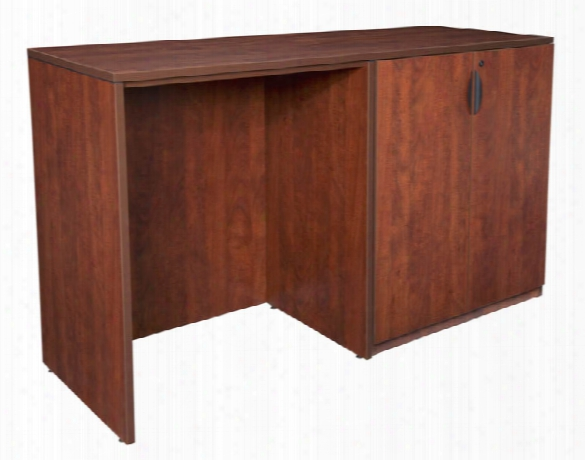 Stand Up Side To Side Storage Cabinet/ Desk By Regency Furniture