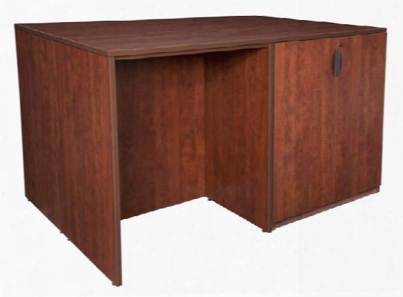 Stand Up Storage Cabinet/ 3 Desk Quad By Regency Furniture