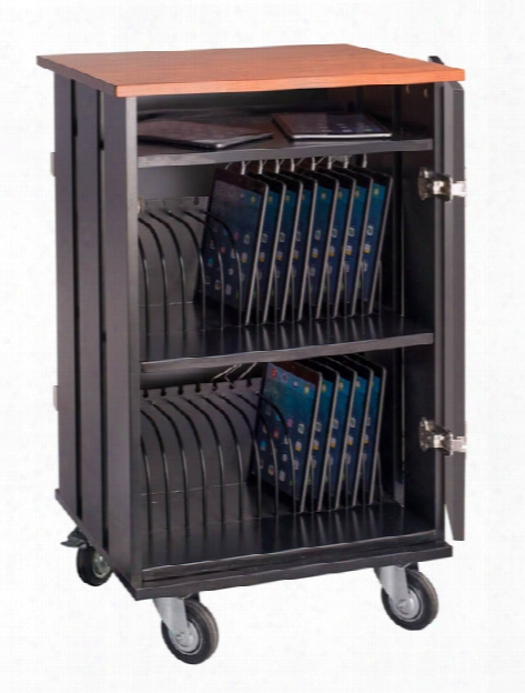 Tablet Charging / Storage Cart By National Public Seating