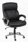 Leather Executive Office Chair by Solution Seating