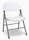 Plastic Folding Chairs (set of 4) by Essentials