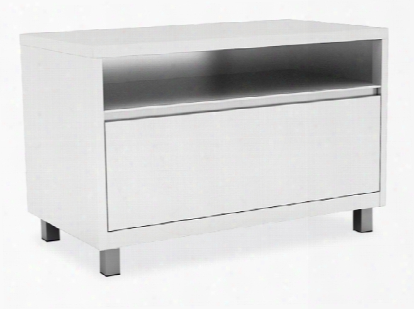 Top Open / Bottom Drawer Lateral File With Leg Base By Office Source