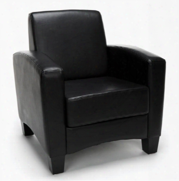 Traditional Leather Arm Chair By Essentials