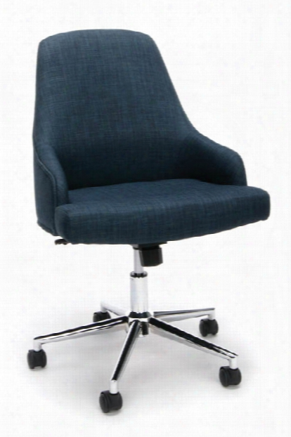 Upholstered Home Desk Chair By Essentials