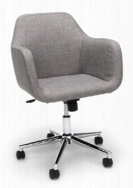 Upholstered Home Office Desk Chair By Essentials