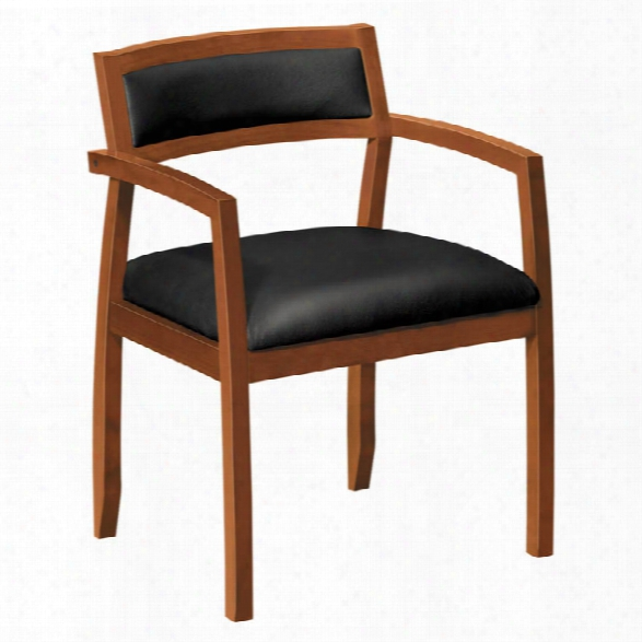Wood Guest Chair By Hon