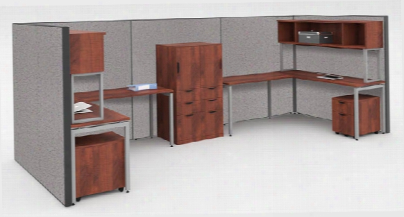 Workstation For 2 With Storage By Office Source