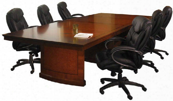 10' Rectangular Conference Table By Mayline Office Furniture