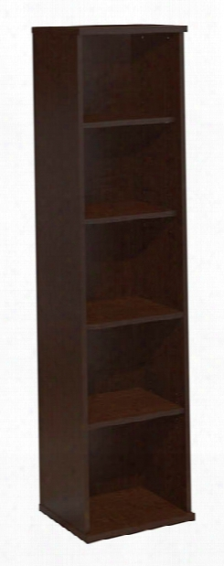"18""w 5 Shelf Bookcase By Bush"