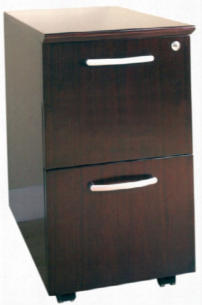 2 Drawer Mobile File Cabinet By Mayline Office Furniture