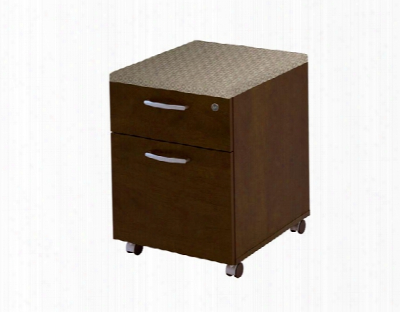 2 Drawer Mobile Pedestal By Bestar