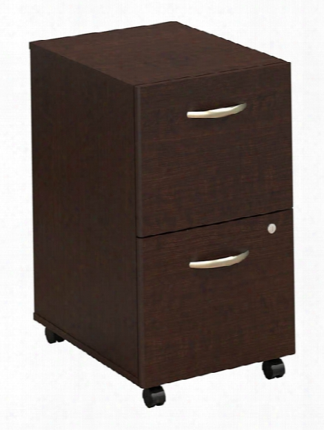 2 Drawer Mobile Pedestal By Bush