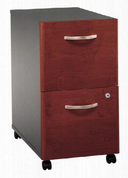 2 Drawer Mobile Vertical File By Bush