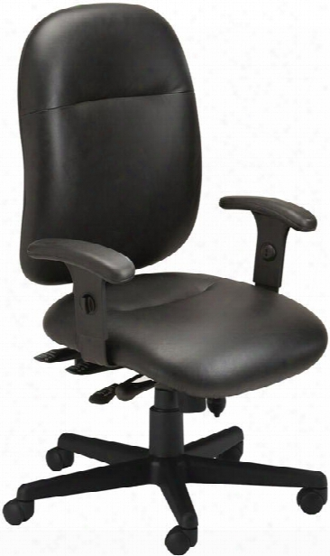 24 Hour High Performance Leather Chair By Mayline Office Furniture
