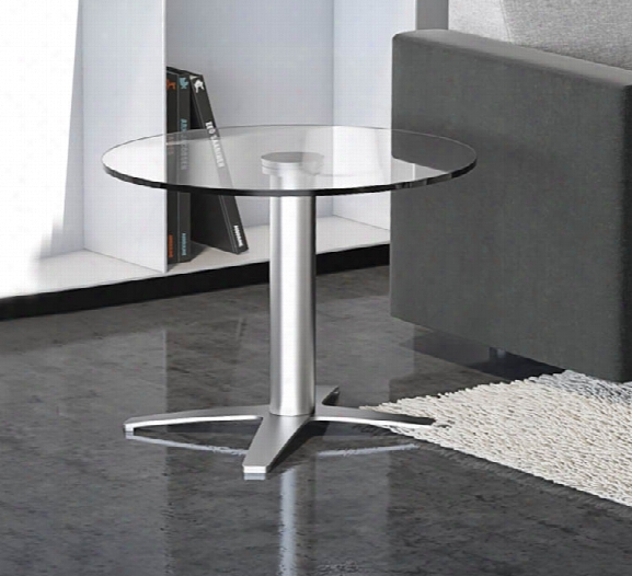 "24"" Glass Top Coffee Table By Office Source"