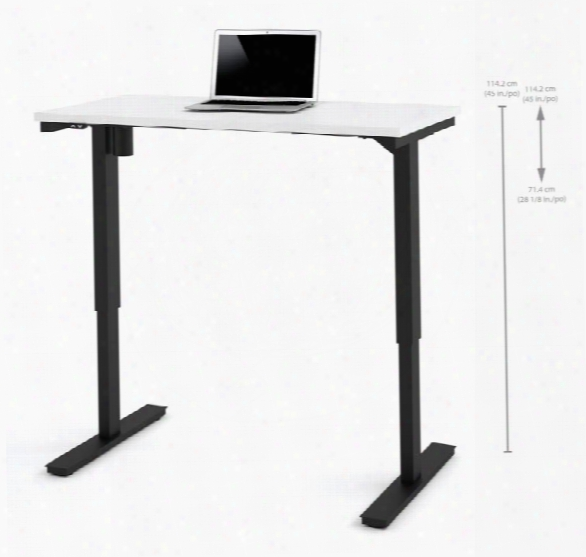 "24"" X 48"" Electric Height Adjustable Table By Bestar"