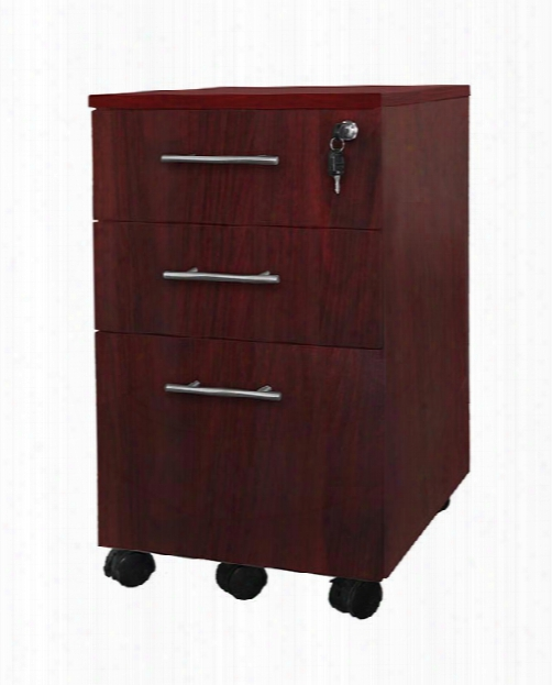 3 Drawer Mobile Pedestal By Mayline Office Furniture