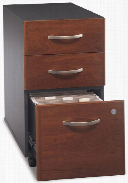 3 Drawer Mobile Vertical File By Bush