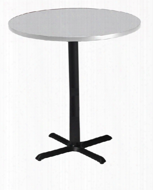 "30"" Round Bar Height Conference Table By Mayline Office Furniture"