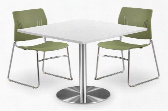 "30"" Square Top Cafeteria Table By Office Source"