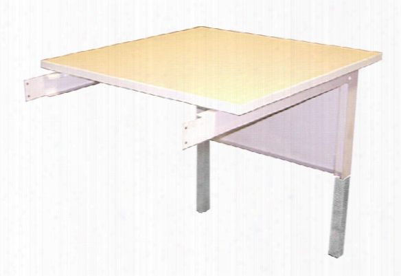 "30""w Adjustable Height Work Table Extension By Mayline Officr Furniture"