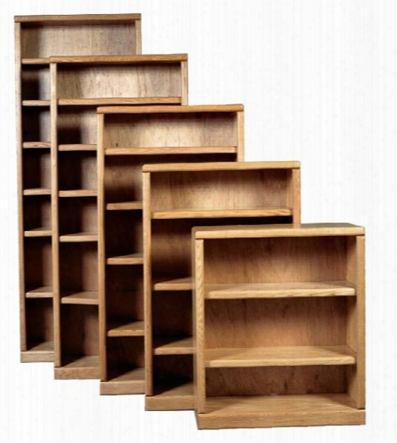 "36"" X 36"" Wood Bookcase By Forest Designs"