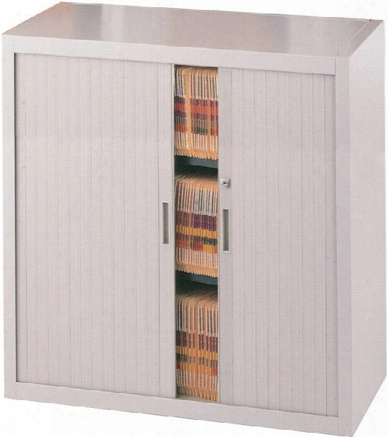 "36""w Three Tier File Harbor Cabinet By Mayline Office Furniture"