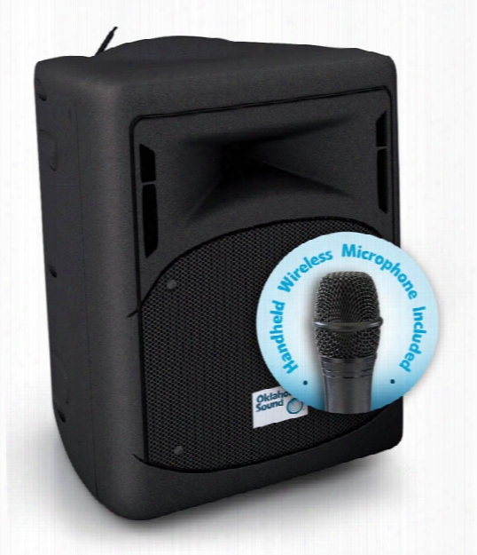 40 Watt Wireless Pa System With Wireless Handheld Mic By Oklahoma Sound