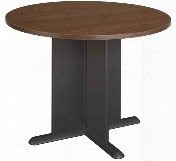 "42"" Round Conference Table By Bush"