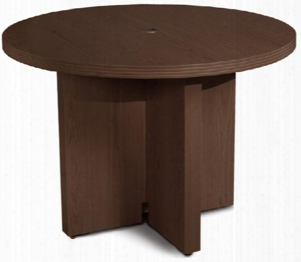 "42"" Round Conference Table By Mayline Office Furniture"
