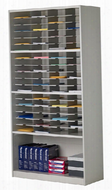 "42""w Literature/form Storage Unit By Mayline Office Furniture"