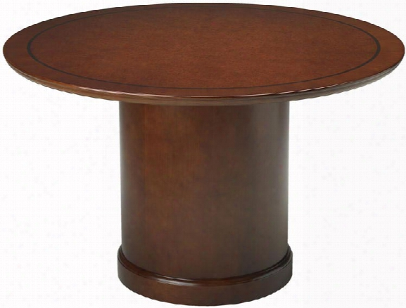 """48"""" Round Conference Table By Mayline Office Furniture"""