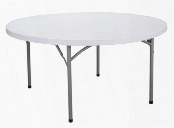 "48"" Round Folding Utility Table By Essentials"
