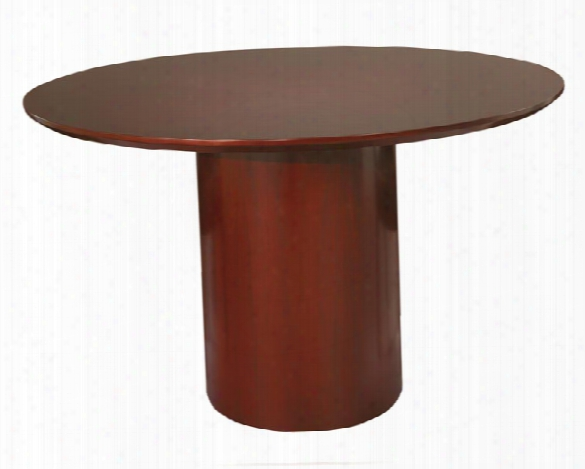 "48"" Round Napoli Conference Table By Mayline Office Furniture"