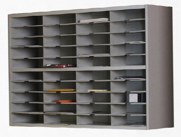 "48""w 2 Tier Mail Sorter By Mayline Office Furniture"