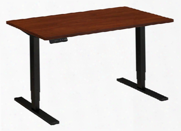 "48""w X 30""d Height Adjustable Desk By Bush"