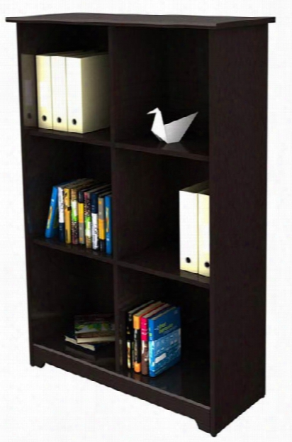 6 Cube Bookcase By Bush