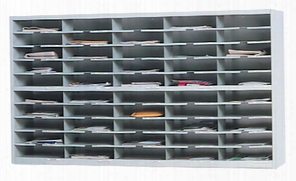 "60""w 2 Tier Mail Sorter By Mayline Office Furniture"
