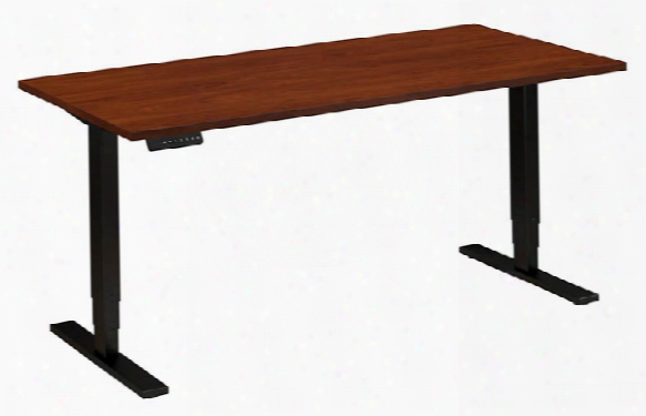"60""w X 30""d Height Adjustable Desk By Bush"
