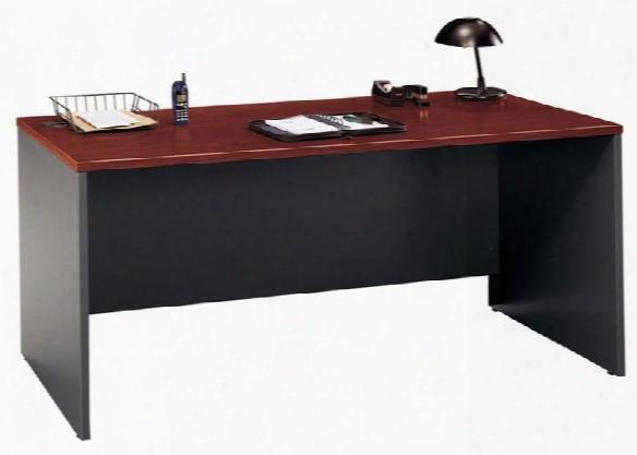 "66"" Desk Shell By Bush"