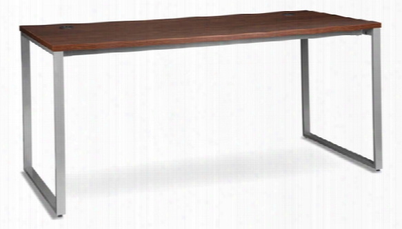 "66"" X 30"" Metal Leg Desk By Ofm"