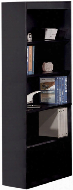"72"" Bookcase With 5 Shelves By Bestar"