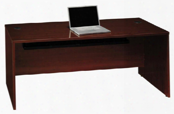 "72"" Desk Shell By Bush"