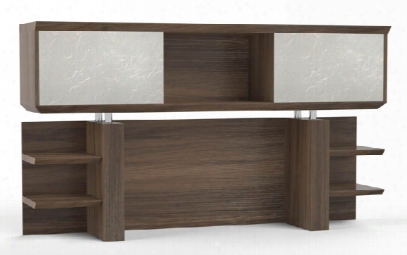 "72"" Double Hutch By Mayline Office Furniture"