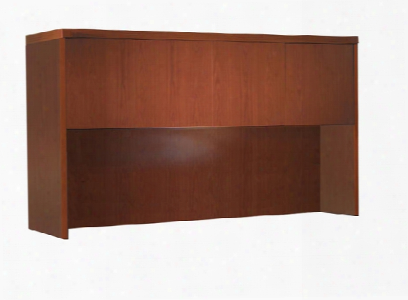"""72"""" Hutch With Wood Doors By Mayline Office Furniture"""