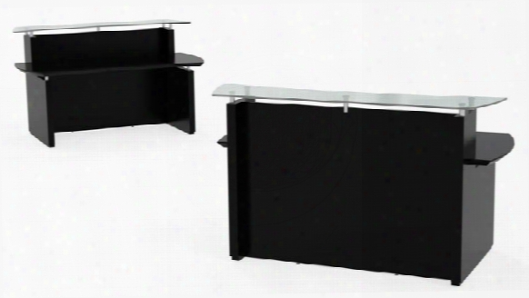 "72"" Reception Desk By Mayline Office Furniture"