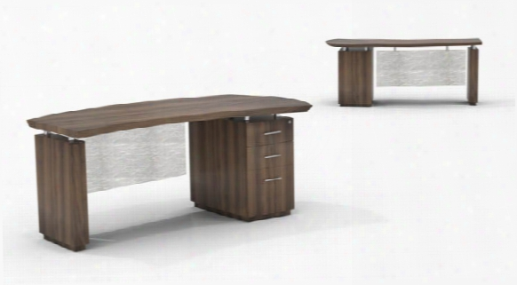 "72"" Single Pedestal Desk By Mayline Office Furniture"