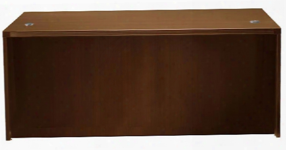 "72"" X 30"" Desk With Full Pedestals By Mayline Office Furniture"